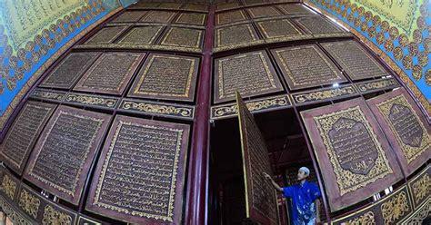 Jibril As Dalam Tiga Kitab Suci melihat 3 mushaf alquran raksasa di dunia salah satu nya