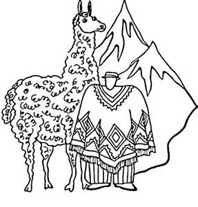 llama coloring pages llama pictures to color coloring