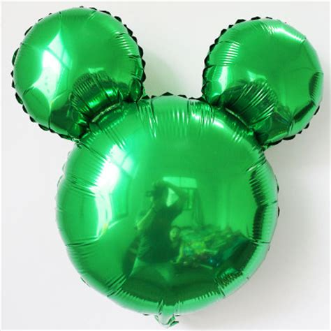 mickey mouse light up balloons mickey balloons 18 inch solid green mickey