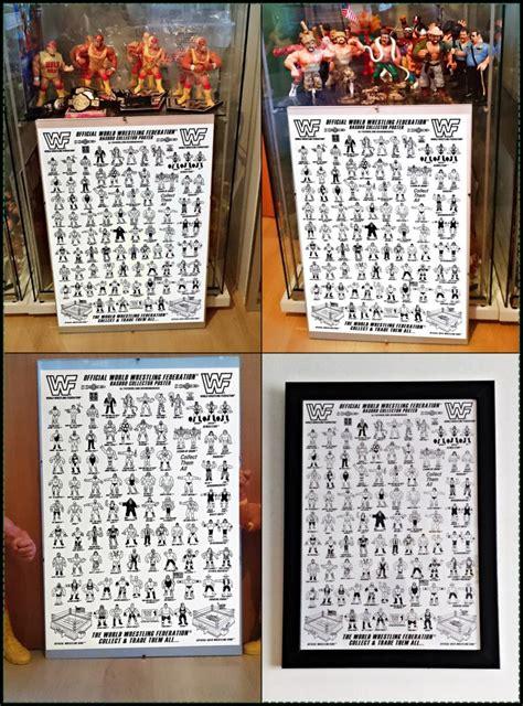 figure checklist wwf hasbro figures collectors poster checklist series 11
