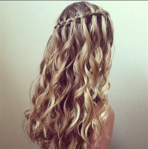 Waterfall Braid Hairstyles by 50 Cascading Waterfall Braids For Glamorous
