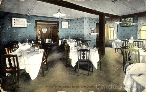 Dining Room Mã Belmarken by Dining Room Wright Tavern Concord Ma