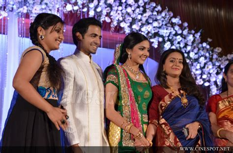 Samvritha Sunil Marriage Reception Photos With Prithviraj
