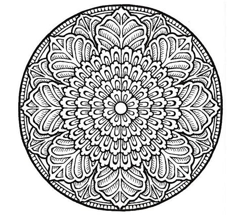 in an coloring book with relaxing and beautiful coloring pages books 498 free mandala coloring pages for adults