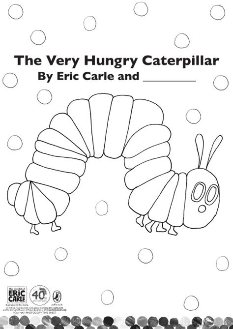 colour the very hungry caterpillar scholastic kids club