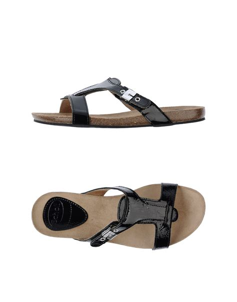black clog sandals scholl clog sandals in black lyst