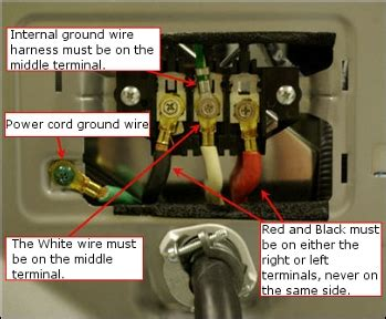 issues with dryer cord home improvement stack exchange
