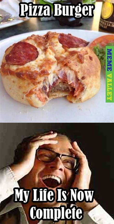 Meme Burger - pizza burger meme valley pinterest tops burgers and