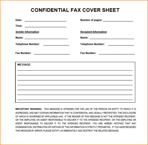 7 confidential fax cover sheet teknoswitch