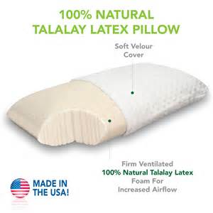 medium firm talalay pillow
