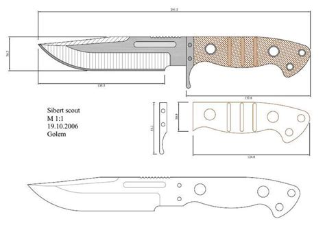 layout blade template 665 best knife designs images on pinterest knifes