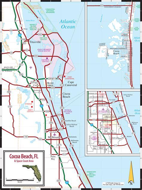 cocoa florida space coast map