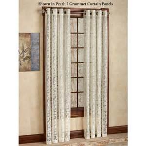Curtain Panels Royal Lace Grommet Curtain Panels
