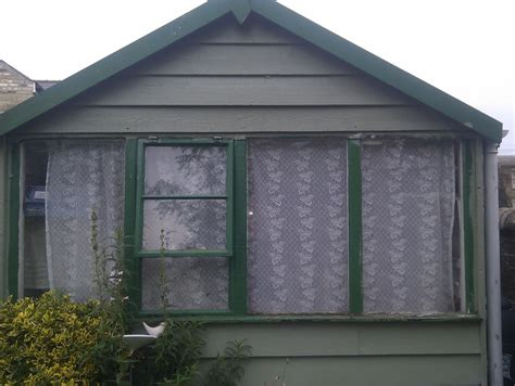 re felt shed replace trims and renovate window frame
