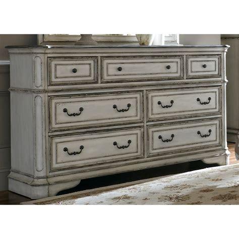 liberty furniture white dresser liberty furniture magnolia manor 244 br31 7 drawer dresser