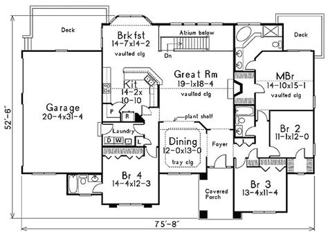 ranch house plans with in law suite plan 5717ha floridian architecture with in suite house master room and ranch