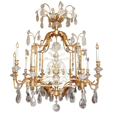 Bird Chandelier Lighting Exquisite Rock Cage Form Bird Twelve Light Chandelier For Sale At 1stdibs