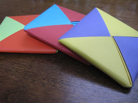 Origami Squares - origami coloring pages paper origami folding finger