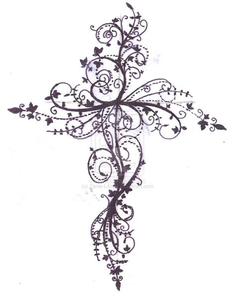 lace cross tattoo lace cross lace