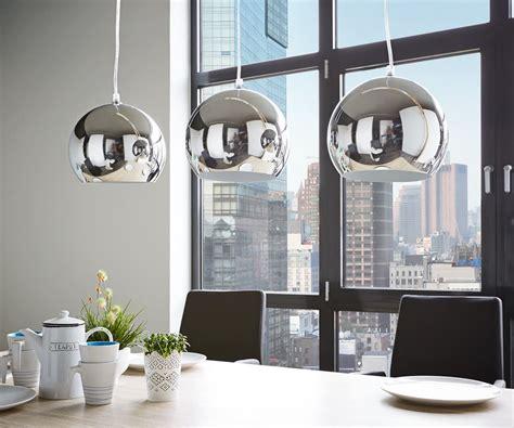 Esszimmer Ohne Fenster by Deckenleuchte Pentola 75 Cm Chrom Silberfarben Metall