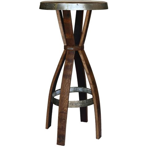 wine barrel bar table green barrel wine barrel stave pub table set ultimate patio