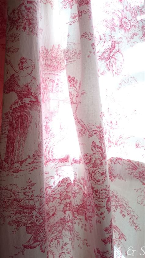 Toile Kitchen Curtains Best 25 Toile Curtains Ideas On Kitchen Curtains Country Curtains And