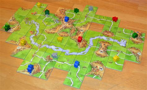 Carcassonne Amazonas Board the board family carcassonne the river mini expansion