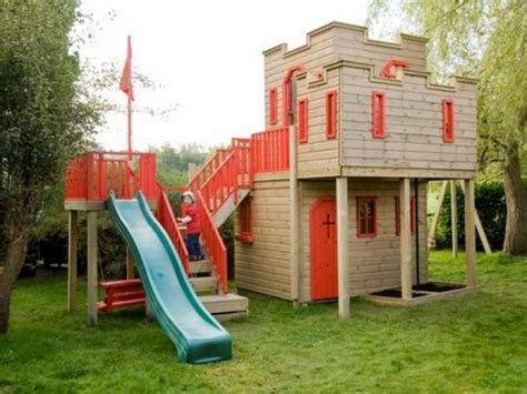 backyard castle playhouse outdoor castle playhouse backyard pinterest