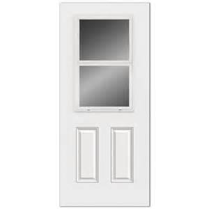 Reliabilt Exterior Doors Reliabilt Ventlite Half Lite Steel Entry Door Lowe S Canada