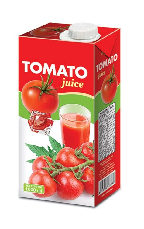 Happy Day Tomato Fruit Juice 1l 1000ml tetra tomato juice trobico oem beverage