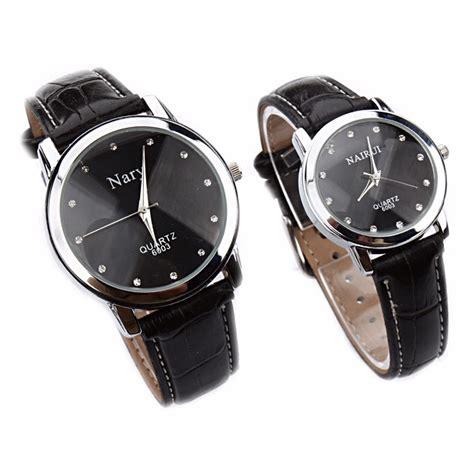 Jam Tangan Kulit Lv nary jam tangan analog pria kulit 6003 black black jakartanotebook