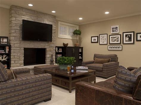 basement decor nice design your basement 4 basement family room design