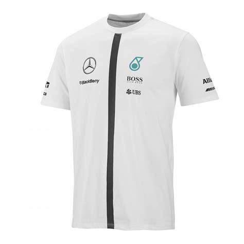 Tshirt Mercedes Petronas F1 Team mercedes amg team driver t shirt 2015 white 195mph