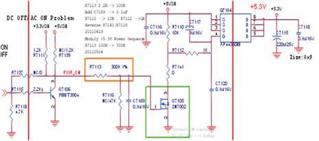 Power Supply Powersupply Regulator Led Tv Sharp Aquos Lc 50le450m belajar tv lcd led koleksi kerusakan tv lcd led sharp