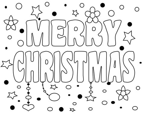 merry coloring pages free printable merry coloring pages for