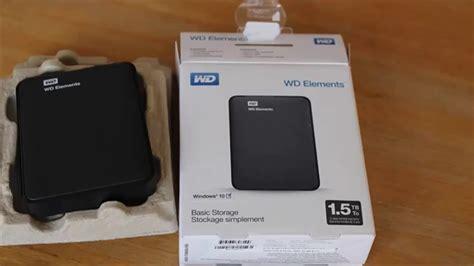 Harddisk External Wd jual harddisk external portable wd element 1 5 tb tambun store