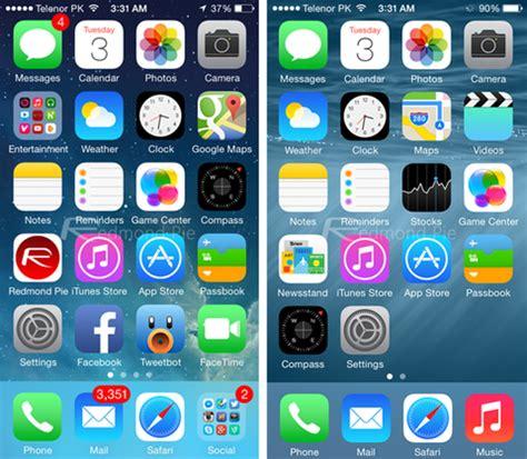 imagenes iphone ios 8 ios 8 vs ios 7 encuentra las diferencias en estas 13