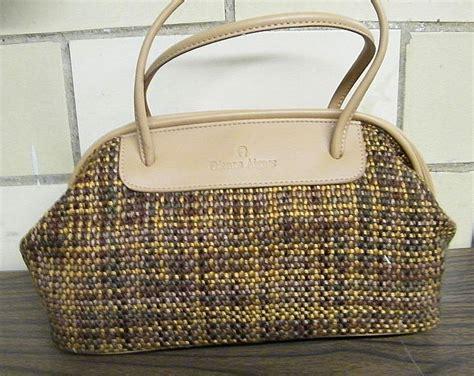 Aigner A04120 Viareggio Silver Green Original etienne aigner satchel handbag purse woven