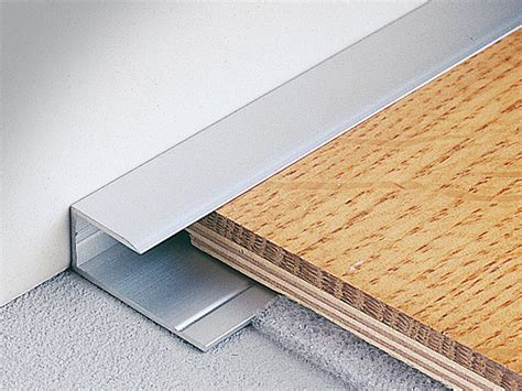 terminal edge profile for wooden and laminate floors woodtec lt by edging for laminate floors