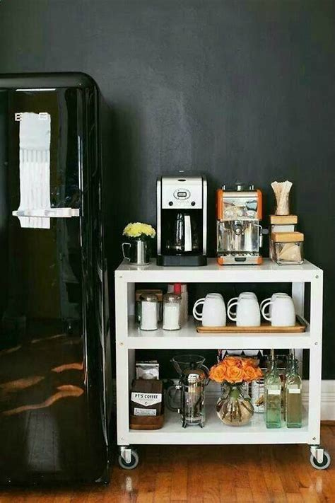 Kitchen Cabinet Desk Ideas by 40 Ideas To Create The Best Coffee Station Decoholic