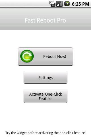 fast reboot pro apk fast reboot pro 2 6 apk