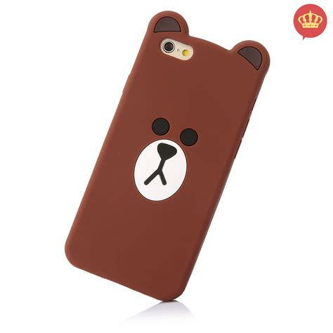 Iphone 6 Plus Iphone 6s Plus 3d capinha para iphone 6 plus 6s plus ursinho cony 3d