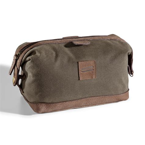 Toiletry Kit Bag Canvas Top Zippered Toiletry Dopp Kit The Wright Bros Store