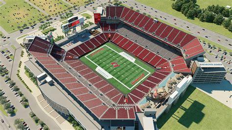 ta buccaneers stadium seating ta bay buccaneers venue by iomedia
