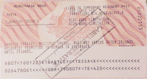 Apology Letter Visa Overstay Australian Migration Visa Childs Check