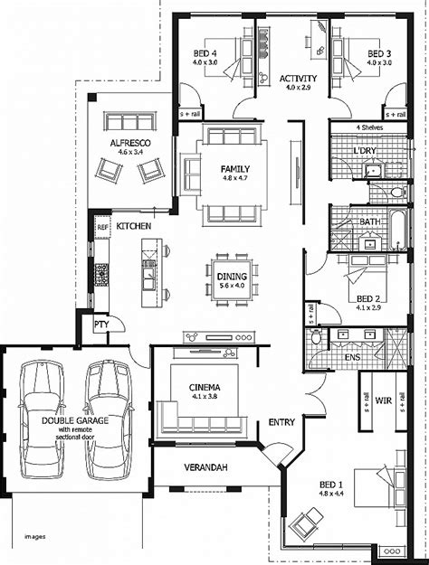 standard house plans house plan new one level house plans with 3 car garage