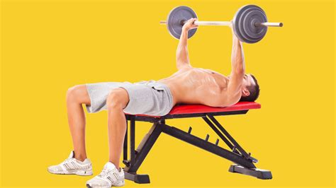 correct way to do bench press how to bench press the right way gq