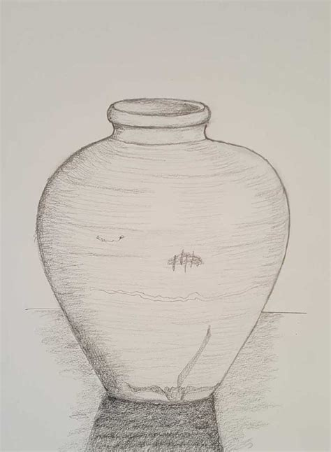 Vase Drawing For by 9 10 Class 7 Produce Drawings Cae Class Certificate 111 In