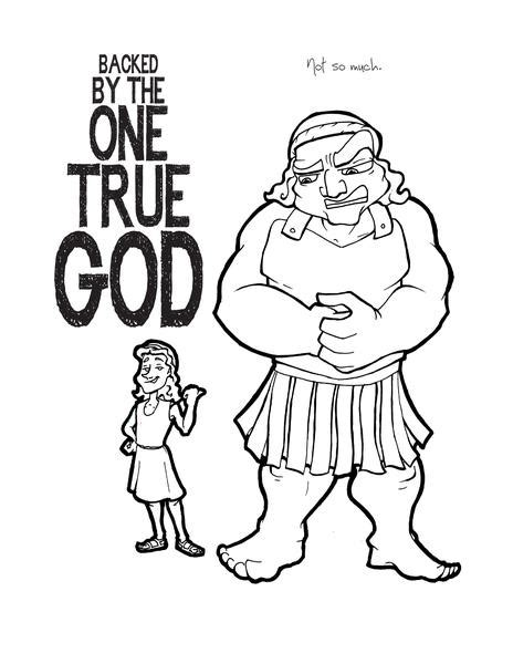 david and goliath coloring pages for toddlers david and goliath coloring page children s ministry deals