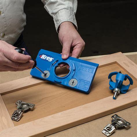cabinet door hinge jig kreg tool company khi hinge concealed hinge jig ca